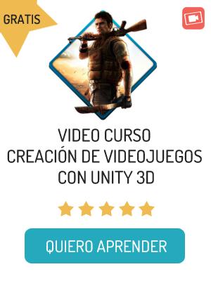 Curso Videojuegos Unity 3D Gratis