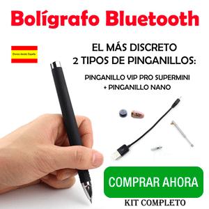 Pinganillo Bolígrafo Bluetooth